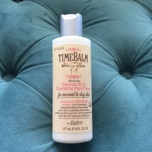 Other - TimeBalm White tea coconut milk cleansing cream